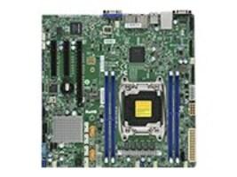 Supermicro Motherboard, MBD-X10SRM-F Micro ATX C612 E5-2600 v4 Family Max.512GB DDR4 10xSATA 2xGbE, MBD-X10SRM-F-O, 32153896, Motherboards