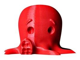 MakerBot True Red 1.75mm 2 LB. PLA Filament for Replicator 5th Generation Z18, MP05779, 16769826, Printer Supplies - 3D