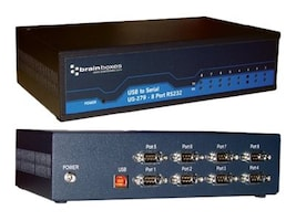 Brainboxes 8-Port RS232 USB to Serial Adapter, US-279, 15251128, Controller Cards & I/O Boards
