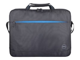 Dell 15 Essential Briefcase, Black w  Blue Accent, ES-BFC-BK-BL-15-FY17, 35528059, Carrying Cases - Notebook