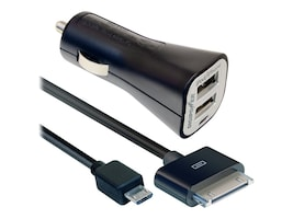 DigiPower 2.1 Amp Dual USB Car Charger, SP-PC200, 15783212, Automobile/Airline Power Adapters