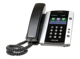 Polycom VVX 500 12-Line Phone w Skype For Business, POE, 2200-44500-019, 31285352, VoIP Phones