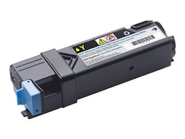 Dell Yellow High Yield Toner Cartridge for 2150cn  2150cdn  2155cn  2155cdn Color Laser Printers, 331-0718, 12695698, Toner and Imaging Components - OEM