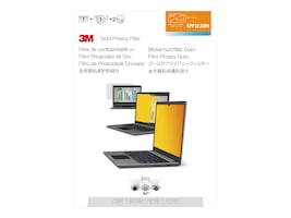 3M 12.5 Widescreen Gold Privacy Filter, 16:9, GPF12.5W9, 13091061, Glare Filters & Privacy Screens