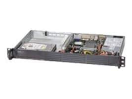 Supermicro Barebones, SuperServer 5017A 1U RM Intel NM10 Atom N2800 Max.4GB DDR3 2x3.5 Bays 2xGbE 200W, Black, SYS-5017A-EP, 16398711, Barebones Systems