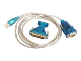 Bytecc USB to Serial Interface RS232 Cable, DB9-DB25, BT-DB925, 12285091, Cables
