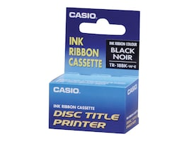 Casio Black Thermal Ink Ribbon, TR-18BK, 12376312, Printer Ribbons