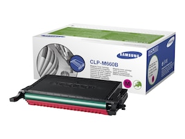 Samsung Magenta High Capacity Toner Cartridge for CLP-610 & 660 Series Printers, CLP-M660B, 8212382, Toner and Imaging Components
