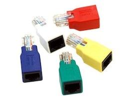 Bytecc Cat6 Gigabit Crossover Adaptor Set Pack, CROSSOVER-5, 11823619, Adapters & Port Converters