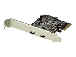 StarTech.com 10Gbps per port Dual-Port USB 3.1 Type C (USB-C) PCIe Card, PEXUSB312C2, 34362085, Controller Cards & I/O Boards