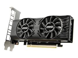 MSI Computer GTX 1650 4GT LP Main Image from Right-angle
