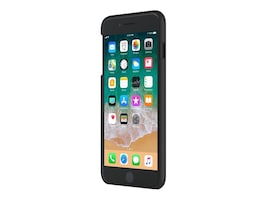 Incipio Feather Case for iPhone 8 Plus, Black, IPH-1680-BLK, 34607994, Carrying Cases - Phones/PDAs