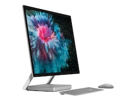 Microsoft Surface Studio V2 AIO Core i7-7820HQ 2.9GHz 32GB 2TB SSD GTX1070 ac BT GbE WC 28 UHD MT W10P, LAN-00001, 36216145, Desktops - All-in-One