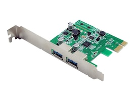 VisionTek 2-Port USB 3.0 x1 PCIe Internal Card, 900869, 31924855, Controller Cards & I/O Boards