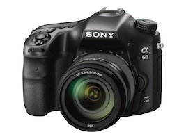 Sony Alpha a68 DSLR Camera with 18-55mm Lens, ILCA68K, 32552416, Cameras - Digital