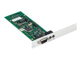Black Box DKM HD Video Peripheral Matrix Switch Transmitter Modular I F Card, Expansion Audio w  RS-232, ACX1MT-AR, 32990117, KVM Displays & Accessories