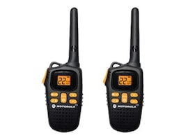 Motorola MD270R TalkAbout 2-Way Radios, 20-Mile, Black, MD207R, 15409888, Two-Way Radios