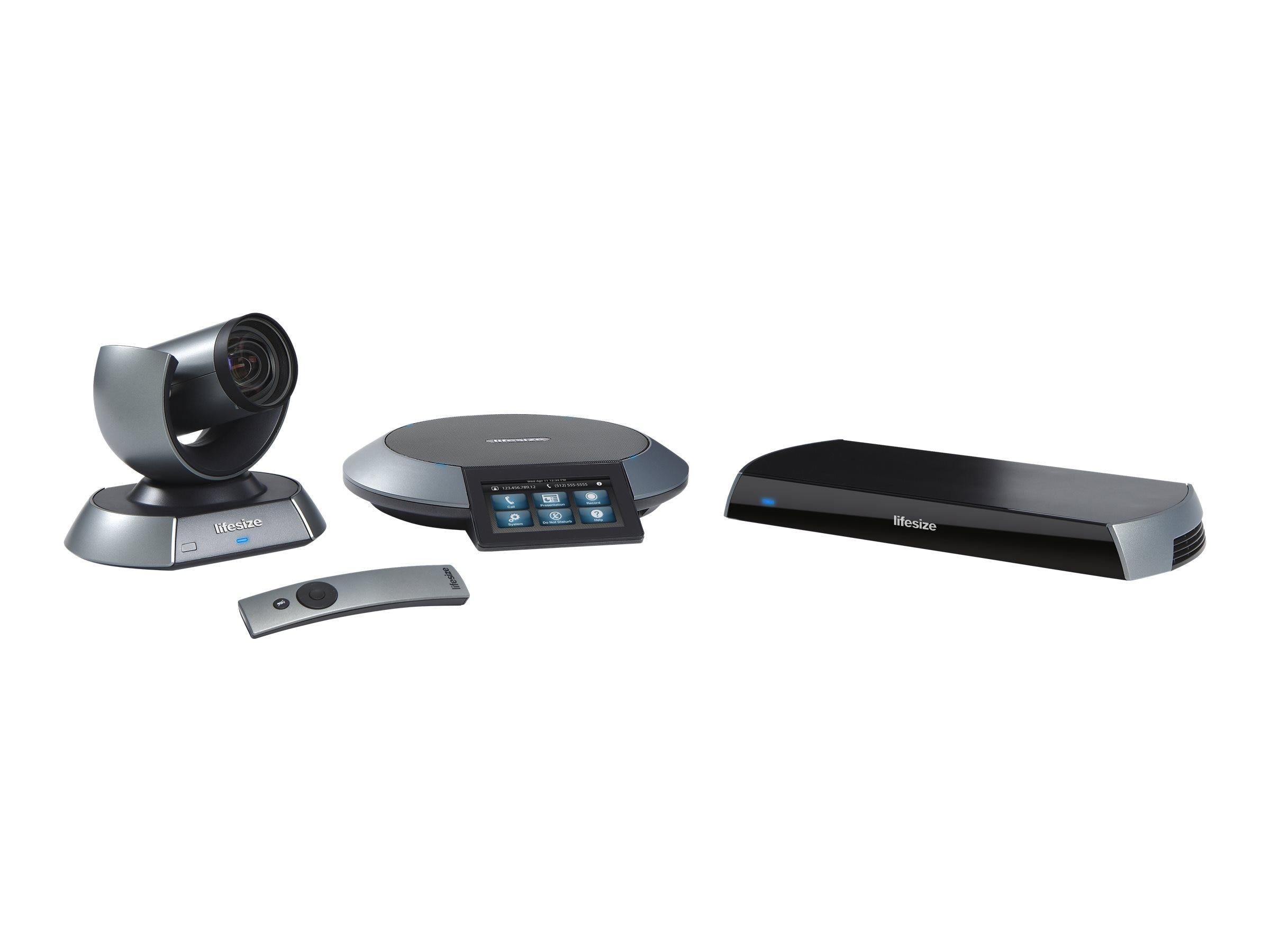 Lifesize Icon 600 & PTZ Camera - 10x Optical Zoom, 1000-0000-1168, 16394260, Audio/Video Conference Hardware