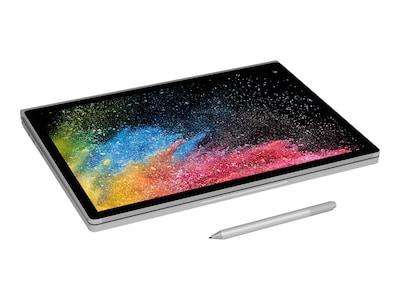 Microsoft Surface Book 2 Core i5-7300U 2.6GHz 8GB 256GB PCIe ac BT WC 13.5 PS MT W10P64, HMX-00001, 34732867, Notebooks - Convertible