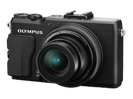 Olympus STYLUS XZ-2 iHS Digital Camera, 12MP, 4x Zoom, Black, V101020BU000, 14836263, Cameras - Digital