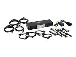 IOGEAR 4-Port DisplayPort 1.2 KVMP Switch w  USB 3.1 GEN1 Hub & Audio TAA, GCS1934, 33630990, KVM Switches