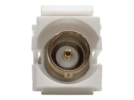 Tripp Lite BNC All-in-One Keystone Panel Mount Coupler (F F), 75 Ohms, A230-001-KP, 33093784, Cable Accessories