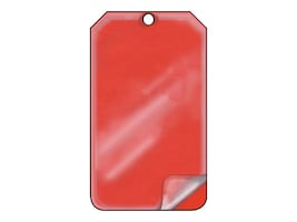 Panduit 15mil Blank Self-Laminating Tags - Red (5 Tags), PST-1030, 36067012, Paper, Labels & Other Print Media
