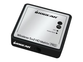 IOGEAR Wireles 5x2 HD Matrix Receiver, GWHDRX01, 16817437, Video Extenders & Splitters