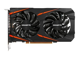 Gigabyte Tech Radeon Gamin RX 550 PCIe Overclocked Graphics Card, 2GB GDDR5, GV-RX550GAMING OC-2GD, 33950627, Graphics/Video Accelerators