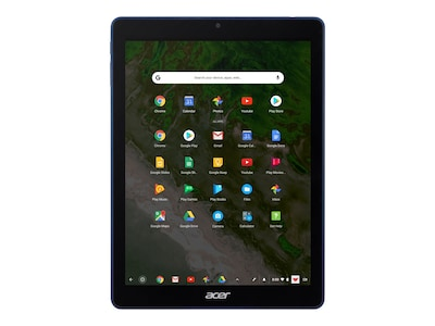 Acer Chromebook Tab 10 RK3399 2.0GHz 4GB32GB SSD ac BT Pen 9.7 QXGA MT Chrome OS, NX.H0BAA.001, 35327927, Tablets