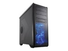 Rosewill Chassis, Mid Tower ATX 6x3.5 Bays 8xSlots 5xFans, Black, BLACKHAWK, 16666131, Cases - Systems/Servers