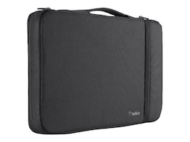 Belkin Air Protect Sleeve for Chromebooks, Black Black, B2A070-C01, 31759706, Carrying Cases - Notebook