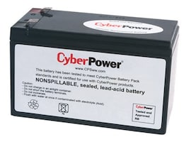 CyberPower UPS Replacement Battery Cartridge 12V 8Ah Battery, RB1280A, 14775042, Batteries - UPS