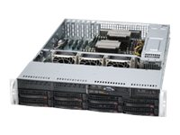 Supermicro SYS-6027R-TRF Main Image from Right-angle