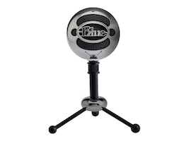 Blue BLUE SNOWBALL USB-BRUSHED      ACCSALUMINUM SNOWBALL BLUE, 988-000068, 37537442, Microphones & Accessories