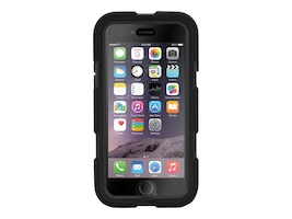 Griffin Survivor All-Terrain for iPhone 6 4.7, Black Black, GB38903, 17700716, Carrying Cases - Phones/PDAs
