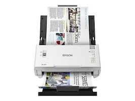 Epson Workforce DS-410 Color Document Scanner, 600 dpi,  26 ppm, 52 ipm, 50-Page ADF, B11B249201, 34517577, Scanners
