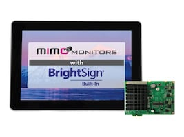 Mimo 10.1 BrightSign Built-in with Capacitive Touch Display, MBS-1080C-POE, 36552739, Monitors - Touchscreen
