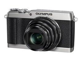 Olympus Stylus SH-2 Digital Camera, 16MP, 24x Zoom, Silver, V107090SU000, 21406237, Cameras - Digital