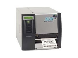 Toshiba B-SX5 Monochrome Direct Thermal Thermal Transfer Bar Code Printer, B-SX5T-TS22-QM-R, 7771465, Printers - Bar Code