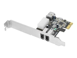 Siig DP FireWire PCIe, NN-E20022-S1, 9503510, Network Adapters & NICs
