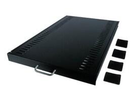 APC NetShelter Standard Duty Sliding Shelf 1U Black, AR8123BLK, 246032, Rack Mount Accessories