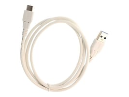 Syba USB 3.0 Type A to USB 3.1 Type C M M Cable, White, 1m, SY-CAB20210, 32461354, Cables