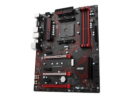 Microstar Motherboard, MSI AMD X370 DDR4 ATX, X370 GAMING PLUS, 35678233, Motherboards