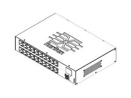 Raritan PDU 1.9kVA 120V 16A 1-ph  2U L5-20P Input (20) 5-20R Outlets, PX3-5405R, 18370405, Power Distribution Units