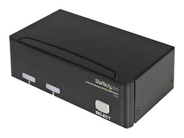 StarTech.com 2-Port StarView KVM Switch PS 2+Serial, SV231, 220127, KVM Switches