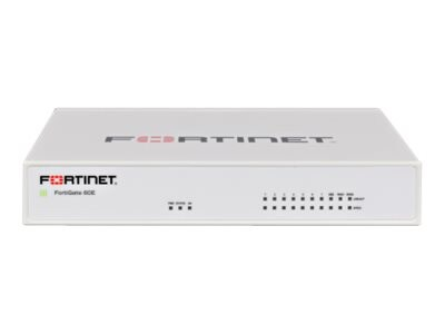 Fortinet FortiGate 60E w 24x7 FC & FG (3 Years), FG-60E-BDL-950-36, 32602225, Network Firewall/VPN - Hardware