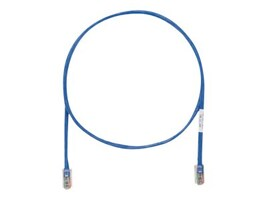 Panduit CAT5E UTP Copper Patch Cable with Pan-Plug Modular Plugs, Blue, 5ft, 25-Pack, UTPCH5BUY-Q, 35434212, Cables