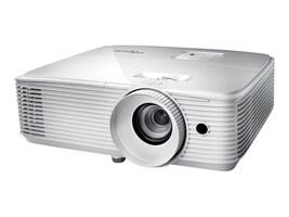Optoma HD27E 1080p DLP 3D Projector, 3400 Lumens, White, HD27E, 35220134, Projectors