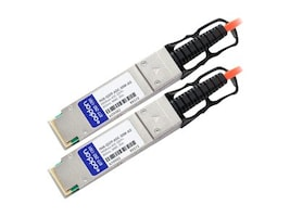 Add On Computer Peripherals PAN-QSFP-AOC-30M-AO Main Image from Right-angle